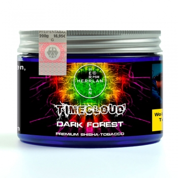 "TimeCloud ""Dark Forest"" Shisha Tobacco 200 g"