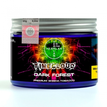 "TimeCloud ""Dark Forest"" Shisha Tobacco 50 g"