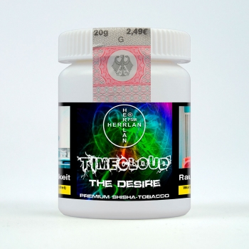"TimeCloud ""The Desire"" Shisha Tobacco 20 g"