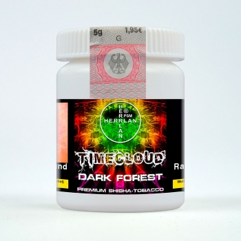"TimeCloud ""Dark Forest"" Shisha Tobacco 5 g"