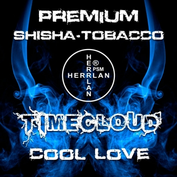 "TimeCloud ""Cool Love"" Shisha Tobacco 1000 g"