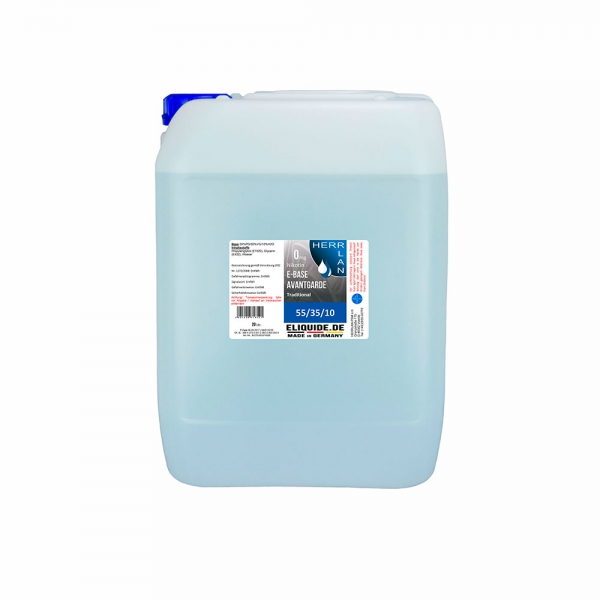 Avantgarde E-Base 20 Ltr. 0 mg